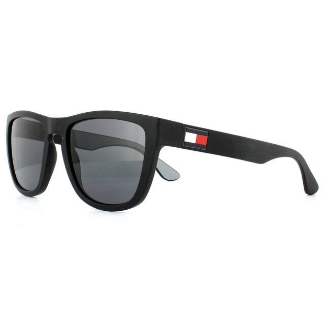 100% autentico a0c43 88a2a Tommy Hilfiger Sunglasses Matte Black / Grey Th1557 08a