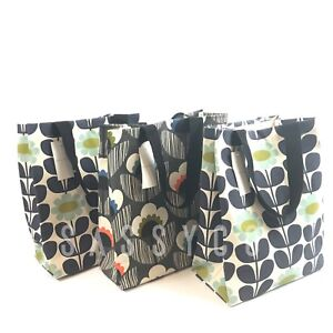 Damentaschen Aufstrebend 1 2 3 Orla Kiely Tall Meadow Flower Reusable Jute Shopping Bag Tesco Beach Tote