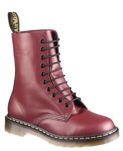 Cherry Red Smooth 11857600 L'originale fori Doc Martens 1490 Dr 10 wqYB0qP