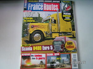 ** France Routes N°325 Mercedes Actrps 1860 Blue Tec 5 / Normes Euro 6