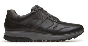 IGI-amp-CO-scarpe-uomo-sneakers-pelle-camoscio-stringhe-zeppa-nero-casual