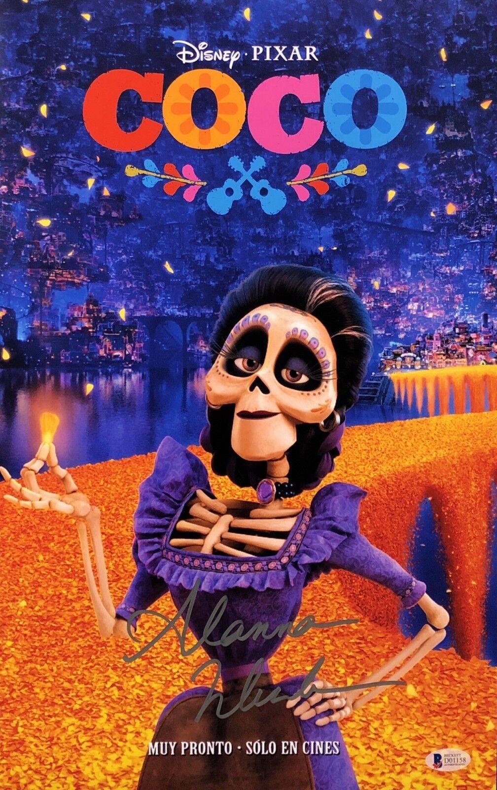 Alanna Ubach Signed Disney's 'Coco' 11x17 Photo Beckett BAS D01158