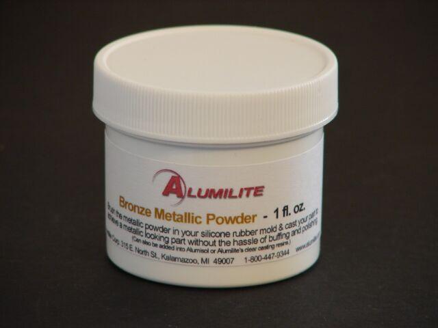 NEW Alumilite BRONZE Metallic Powder Crafts for Casting Resin Molds, 1 oz