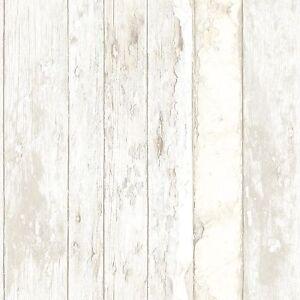 Das Bild Wird Geladen Tapete Grandeco Exposed Holz Used Look Vintage Shabby