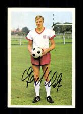 Gerhard Welz Bayern München Bergmann Sammelbild 1966-67 Original Signiert
