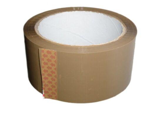 2 ROLL Marrone Buff pacchi imballaggio nastro WIRQUIN 48mm x 66m