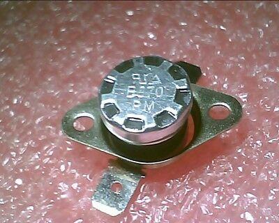 NC:Temperature:BiMetal Switch N.C Thermostat:KSD9700 55ºC 131ºF