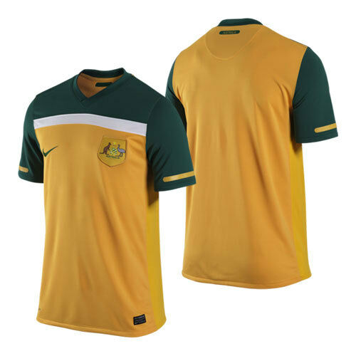 6f0521ae3 Nike Australia SOCCEROOS Football Soccer Shirt Jersey Top Men Sz XL for sale  online