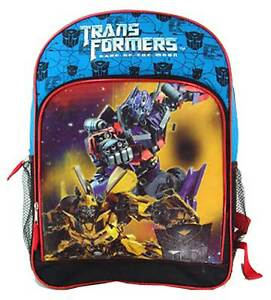 """Bumble Bee Transformers Large 16/"""" Backpack"""