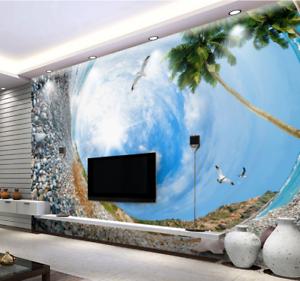 3D Bubble Sky 4015 Wallpaper Murals Wall Print Wallpaper Mural AJ WALL UK Lemon
