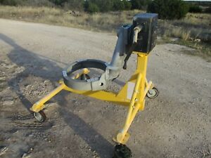 Details about Used Honeywell Gas Turbine Engine Work Stand, Rotating 360  degrees, HD Gearbox a
