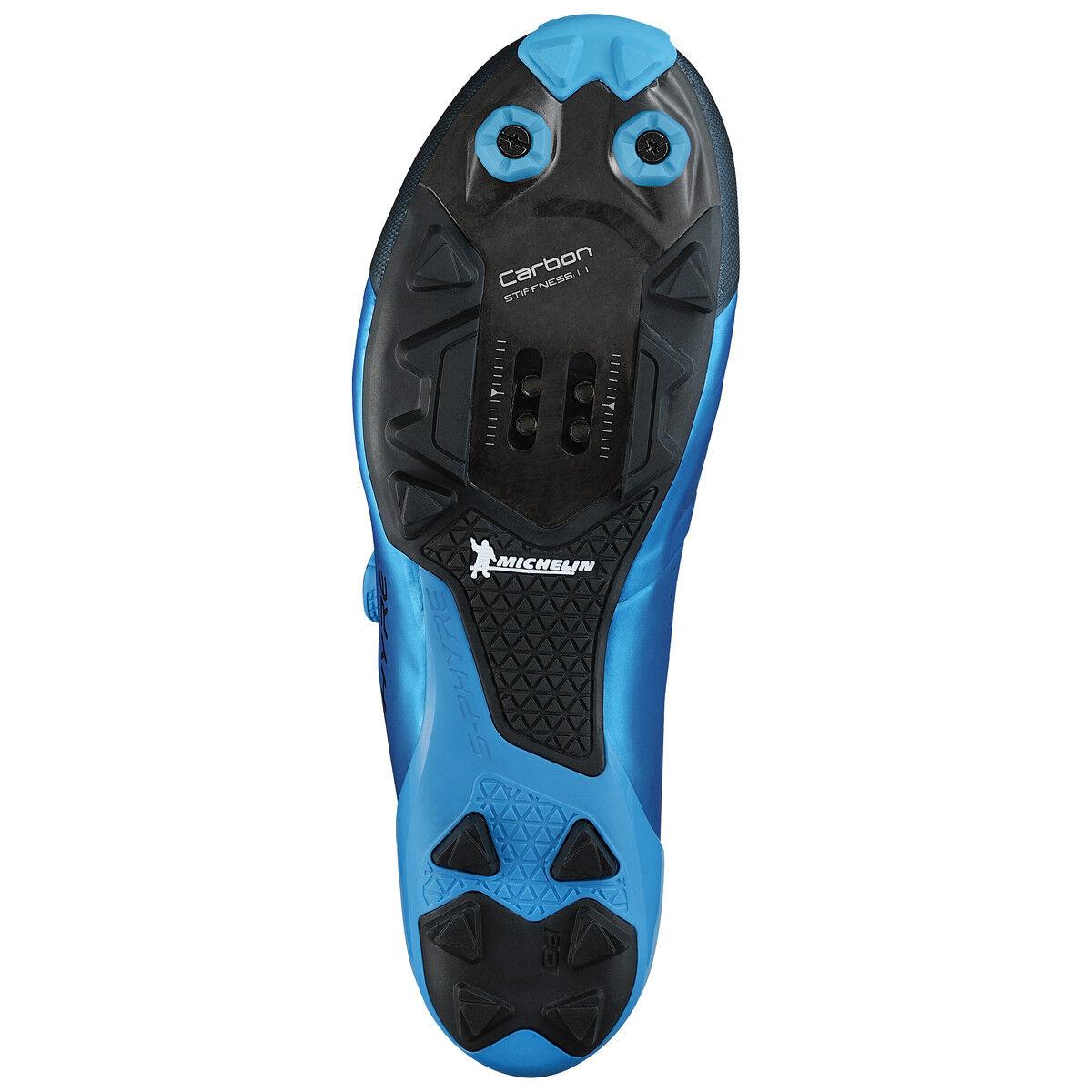 Schuhe bici bike schuhe Shimano S-PHYRE Blau XC9 blu XC900 blu XC9 carbon ciclismo mtb 2a6c43