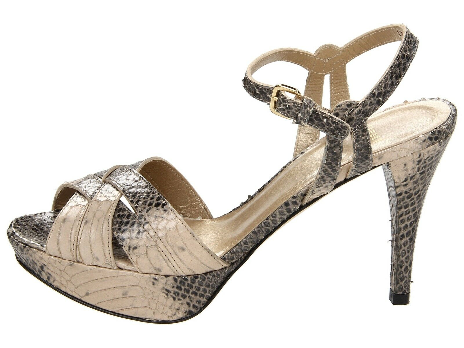 Stuart Weitzman Loopthru Bout Ougreen Ougreen Ougreen shoes Sandales Semelle Compensée 9 08fda3