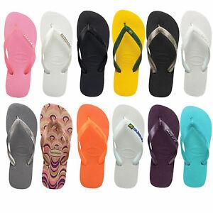 Havaianas Tongs pour Femmes Sandales Chaussures Pantoufle Feuilleter Chaussons