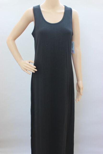 b08bc788f1 XL Extra Large LuLaRoe Dani Tank Dress Beautiful Versatile SOFT Solid Black  NWT