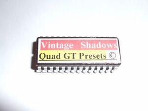 Alesis Quadraverb Gt Nommé Vintage Ombres Preset échos Eprom Copyrighted.-afficher Le Titre D'origine
