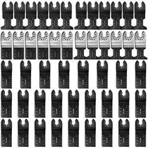 50x Oscillating Multi Tool Blades Set Metal Carbide Wood for Dewalt Makita Bosch