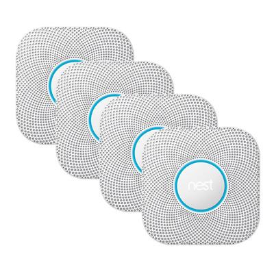 Nest Protect 4er Set Rauchmelder und Kohlenmonoxidmelder 2. Generation
