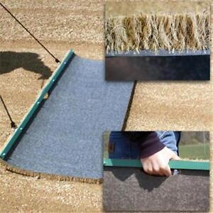how to make a baseball field drag mat