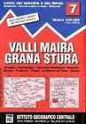 IGC Italien 1 : 50 000 Wanderkarte 7 Maira Grana Stura (2007)