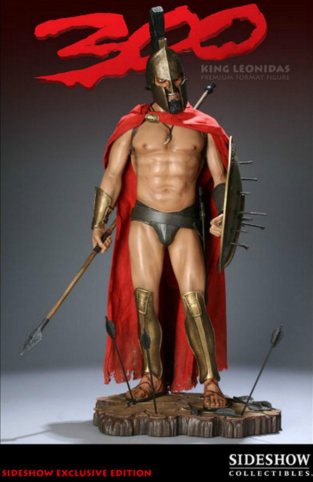 Sideshow 300  King Leonidas Premium Format Maquette Exclusiv Lmt zu 600 Statue  | Gute Qualität