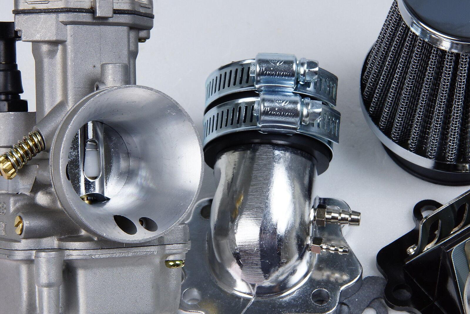 Performance PWK  28mm Carburetor kit  for Polaris 2T Scrambler 90cc 2001 2006 US
