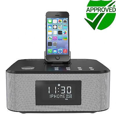 Docking station iPhone 8 8+ 7 6 5 iPod iPad Bluetooth AZATOM HomeHub Black