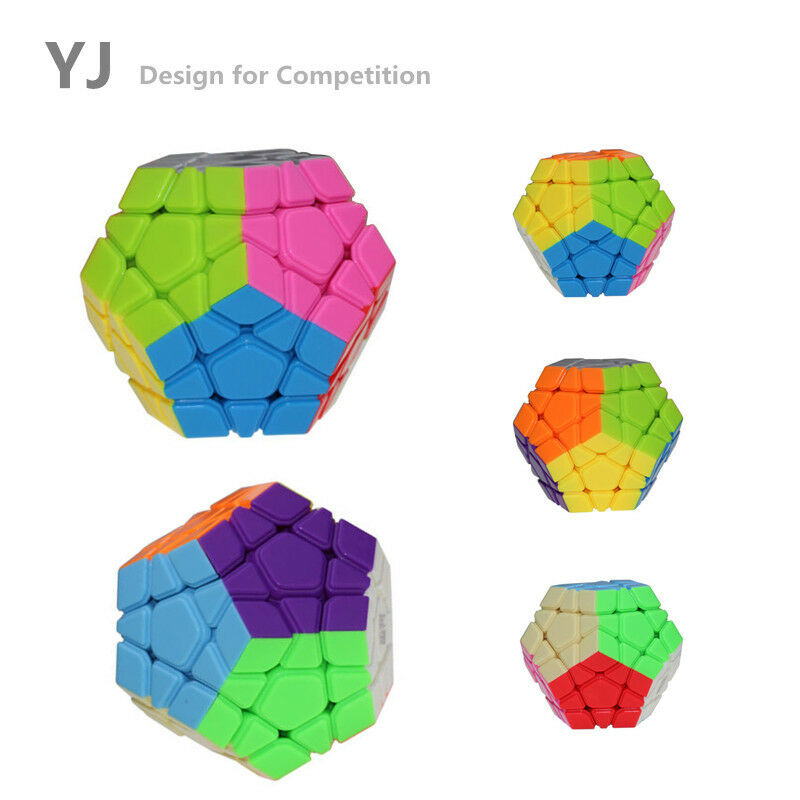 Lot 10 YongJun Megaminx Magic Speed Cube Puzzle Toy Special Twist Play