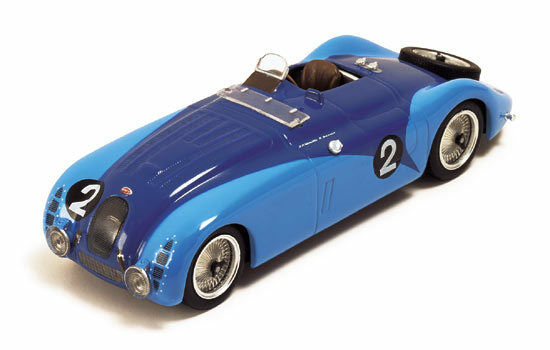 Bugatti 57 G  2 Winner Le Mans 1937 Wimille 7 Benoist Re-Edition 1 43 Model  | Für Ihre Wahl