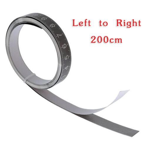 Décamètre à ruban Dimensions tonnelier en acier inoxydable collante échelle élevé de précision