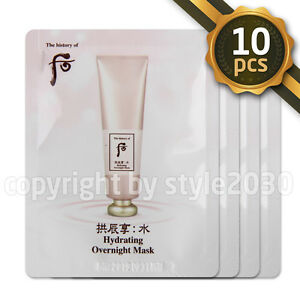 The-history-of-Whoo-Hydrating-Overnight-Mask-4ml-x-10pcs-Sleeping-Mask-Newest