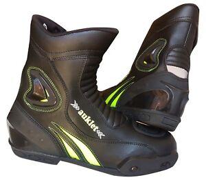 Stivali-per-moto-da-CON-ANTITORSIONE-Racing-39-40-41-42-43-44-45-46-Auklet