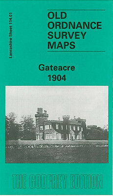 OLD ORDNANCE SURVEY MAP GATEACRE 1904 LIVERPOOL CHILDWALL HALL BEACONSFIELD ROAD