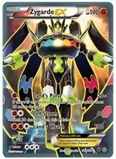 ZYGARDE EX 54a/124 Holo Rare Fates Collide Promo -NM Pokemon- Full Alternate Art