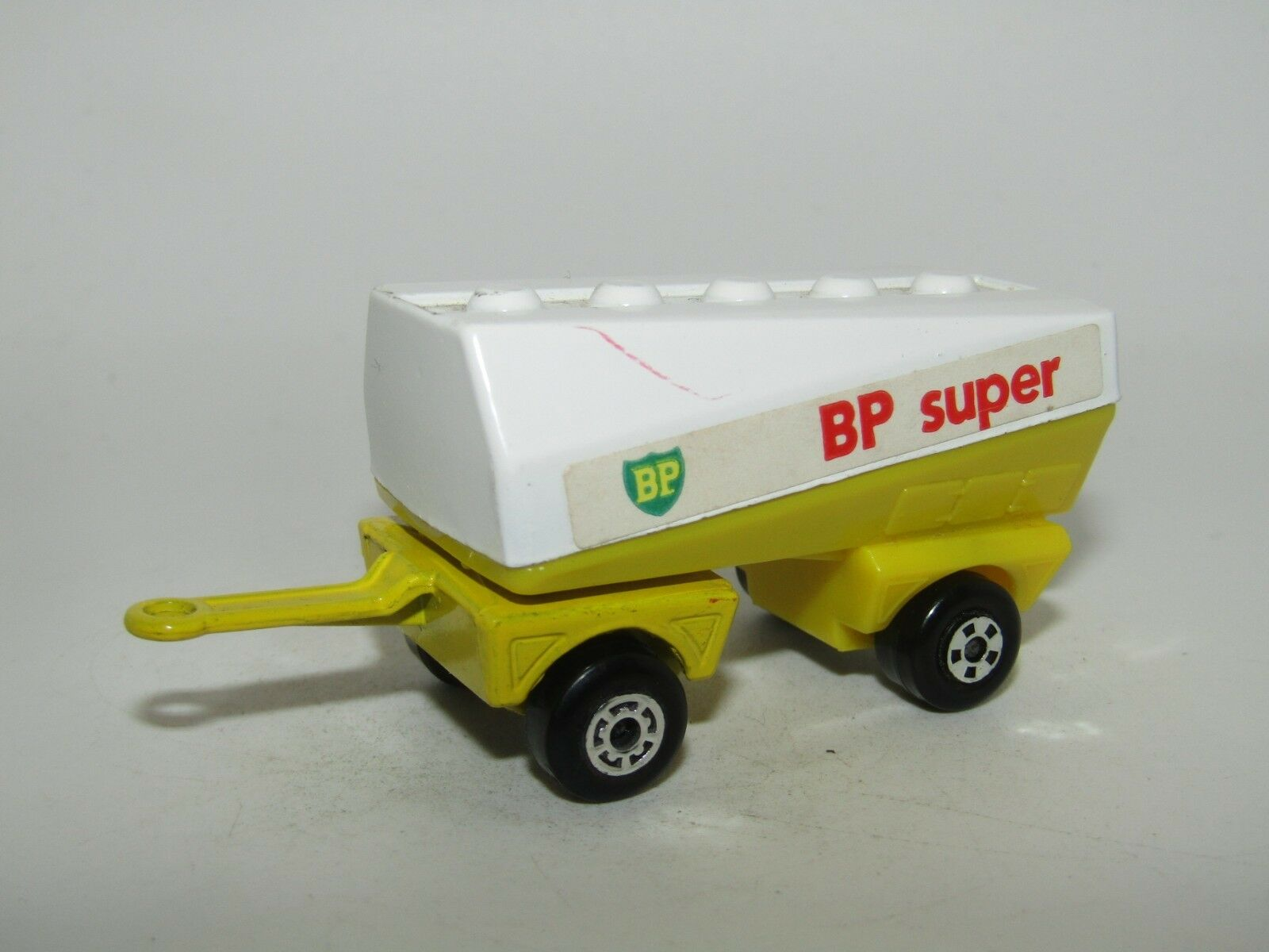 Matchbox Superfast Freeway Gas Tanker Trailer BP SUPER Near Mint Unboxed RARE