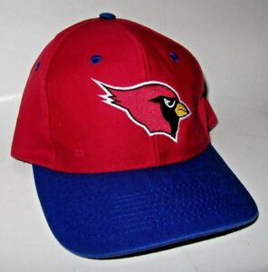 26d9120c1 Details about Vintage 90s VTG Arizona Cardinals LOGO 7 Snapback Hat  Baseball Cap