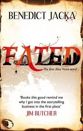 1 of 1 - Fated: An Alex Verus Novel by Jacka, Benedict 0356500241 The Cheap Fast Free