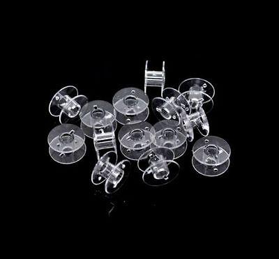 20mm Clear Acrylic Universal Sewing Machine Bobbins Bobbin Spool Domestic ML