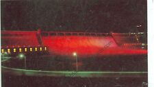 WASHINGTON-GRAND COULEE DAM AT NIGHT-CHROME-(DAMS-205)