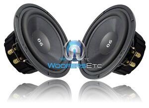 "CDT AUDIO ES-06 GOLD 6.5"" CAR AUDIO 100 WATTS RMS MID-BASS DRIVERS PAIR NEW"