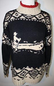 RALPH LAUREN Hand Knit Canoe Linen Sweater M | eBay