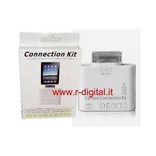 CARD READER KIT IPAD PORTA USB LETTORE SCHEDE 5in1 SD MMC XD MS ADATTATORE