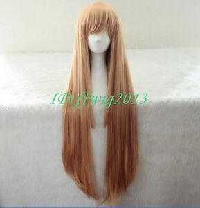 Himouto! Umaru-chan Doma Umaru 100cm long Cosplay Costume Wig+free wig cap