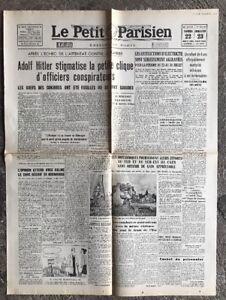 N34-La-Une-Du-Journal-Le-Petit-Parisien-22-Et-23-Juillet-1944
