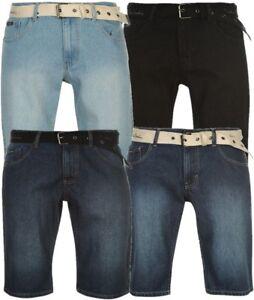 Fein ✅ Pierre Cardin Herren Kurze Jeans Hose Schwarz Blau Wash S M L Xl Xxl 3xl 4xl