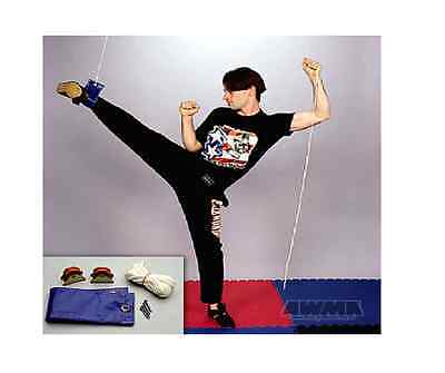 Exerpull Cable Pulley Portable Leg Stretcher Stretching Gymnastics Karate  Tkd