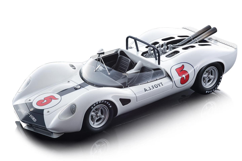 LOTUS 40  5 A.J. FOYT 1965 RIVERSIDE GP LTD 120 PC 1 18 CAR TECNOMODEL TM18-125D