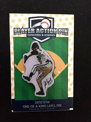 "Sport Detroit Tigers Mark Fidrych Revers Pin Collectible Fondly Remembered-the "" Vogel Schnelle WäRmeableitung"