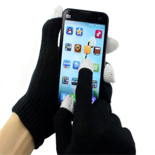 3 Paires Gant Gants Pour écran Tactile Dispositifs Smartphone iPhone iPad Tablette