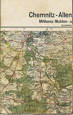Grimma Colditz Großbothen 1929 Teilkarte/Ln. Zschadraß Thummlitzwalde Leisenau